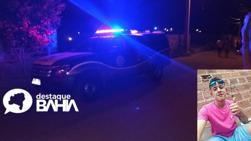 Homicídio é registrado na noite desta quarta-feira no bairro Malhada Branca em Brumado