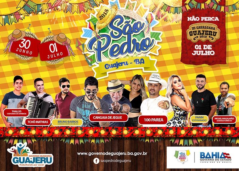 Guajeru se prepara para os festejos de São Pedro e Cavalgada que acontecem no próximo fim de semana