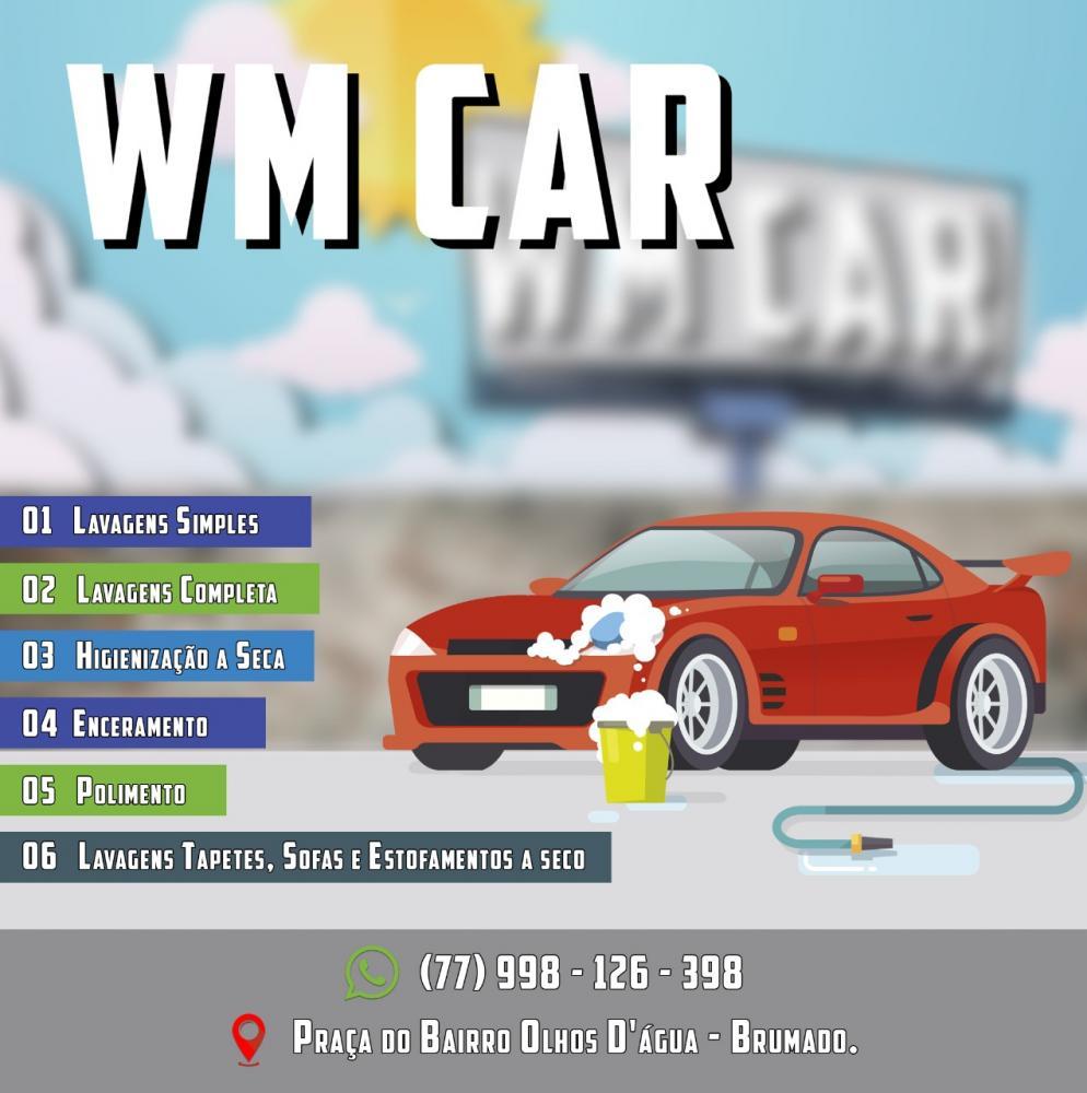 WM CAR: Sua melhor opção de lava rápido em Brumado
