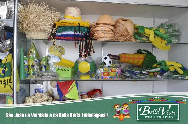 Tudo que você precisa para torcer pelo Brasil e curtir as festas juninas tem na Bella Vista