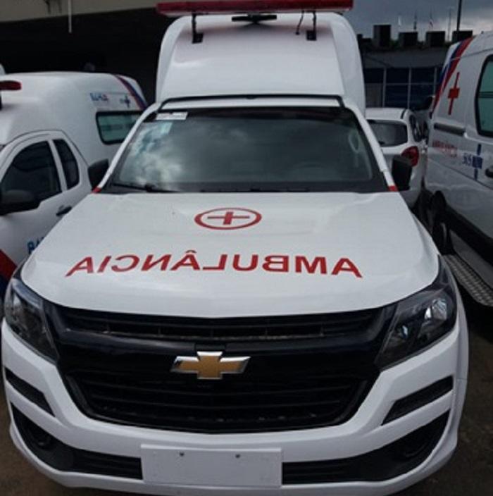 Ambulância, fruto de emenda do ex deputado Erivelto Santana, será entregue ao município de Rio do Antônio e aguarda apenas o aval do governo do Estado