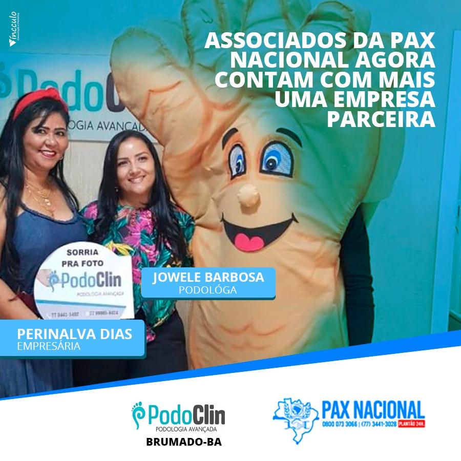 Brumado: Mais uma empresa firma parceria com a Pax Nacional; mais vantagens para os associados