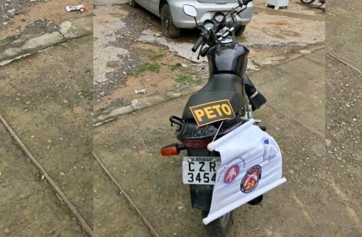 Brumado: Polícia apreende moto com placa de outro veículo e sinal identificador suprimido