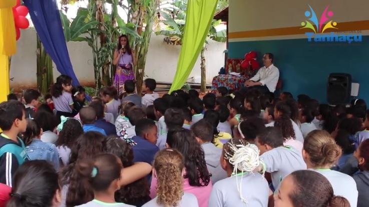 Projeto de Leitura proporciona momentos de aprendizagem a alunos da rede pública de educação de Tanhaçu