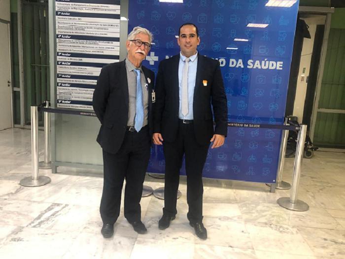 Em Brasília, prefeito de Brumado protocola no MS importantes pedidos para ampliar ainda as ações na área de saúde