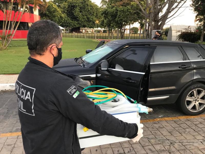 Operação contra empresa que deixou de entregar respiradores ao Consórcio Nordeste prende três pessoas