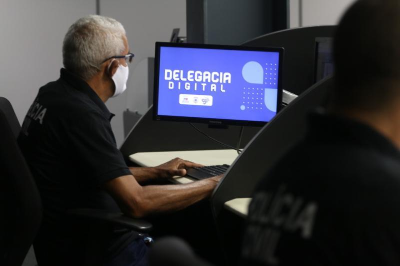 Nova Delegacia Digital tem 14 mil registros em 30 dias