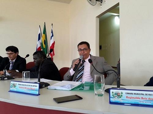 2018: vereador Antônio Oliveira Novais apresenta Projeto de Indicação em Rio do Antônio