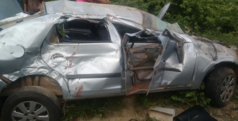 Uma pessoa morre em acidente na BA-262 em Aracatu