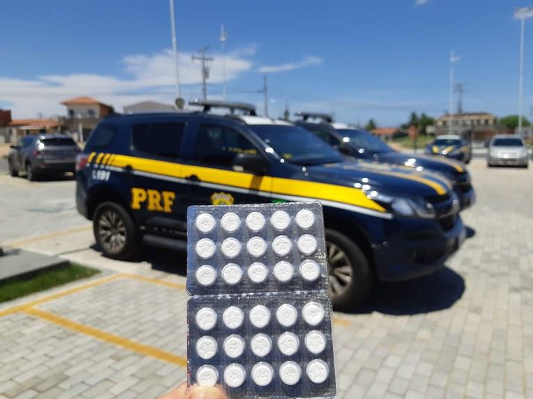 PRF na Bahia bate recorde com mais de 100.000 comprimidos de anfetaminas apreendidos em 2020