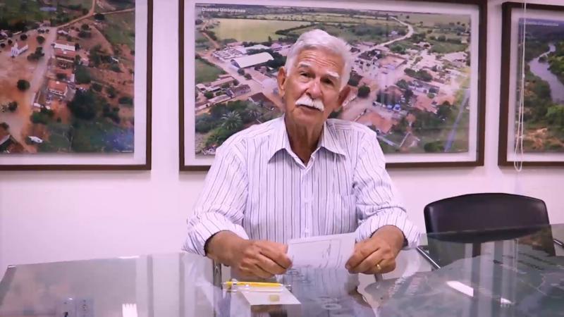 Prefeito Eduardo Vasconcelos deixa mensagem à população em referência ao aniversário de Brumado, veja o vídeo