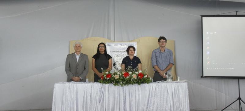 Abertura da Jornada Pedagógica é realizada em Malhada de Pedras