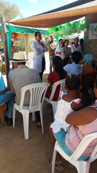 Prefeitura de Malhada de Pedras realiza Feira de Saúde na comunidade Tanque da Onça