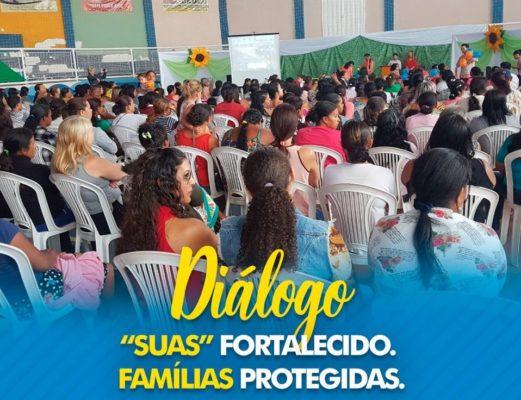 """Secretaria de Assistência Social realiza diálogo """"SUAS Fortalecido; Famílias Protegidas"""" em Barra da Estiva"""