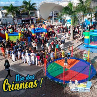 Prefeitura e Cras realizam grande festa de Dia das Crianças em Barra da Estiva