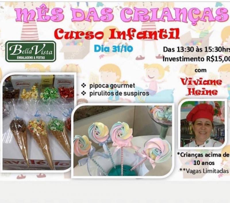 Bella Vista Embalagens realizará curso de culinária para crianças com a culinarista Viviane Heine