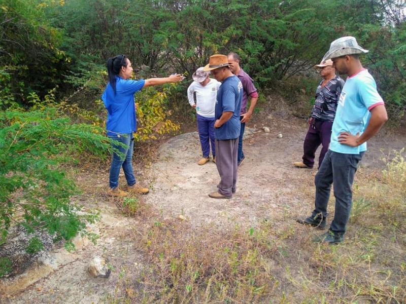 Cerb realiza análise para perfurações de poços artesianos em Guajeru
