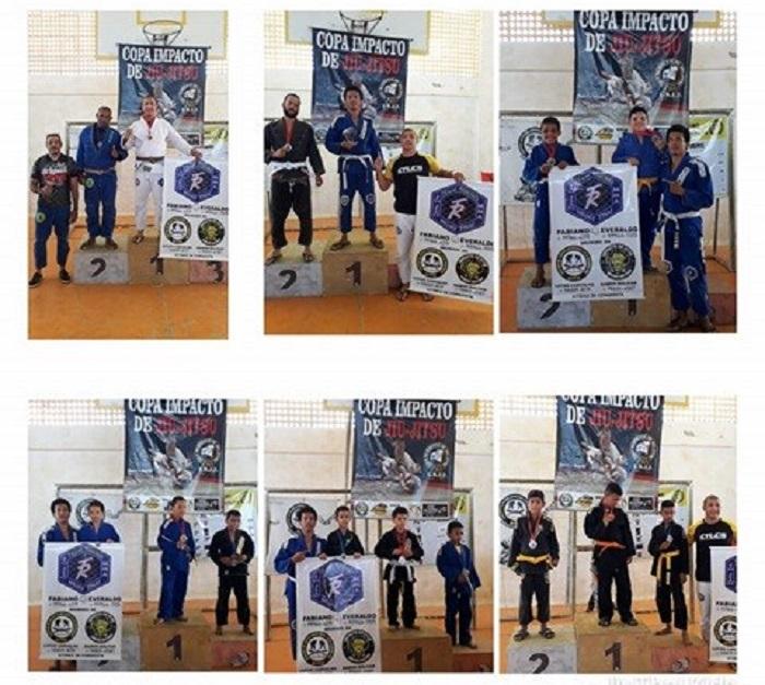 Equipe Team Ribeiro representa Brumado mais uma vez, na Copa Impacto de Jiu Jitsu, em Conquista