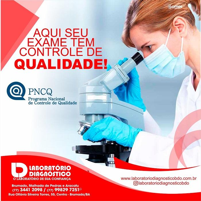 Diagnóstico o laboratório de sua confiança, referência regional