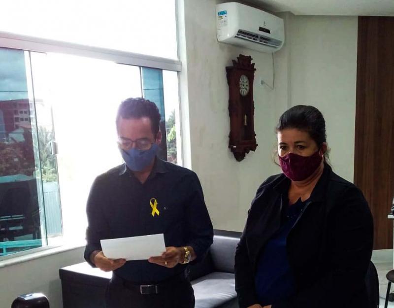 Santinho é empossado vereador em vaga aberta devido ao falecimento de José Carlos de Jonas