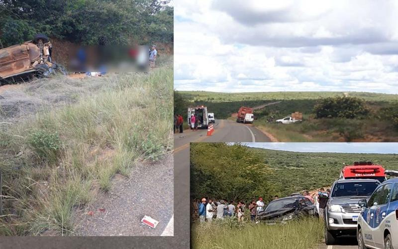 Maetinga: Membros de uma mesma família ficam gravemente feridos após colisão entre carros