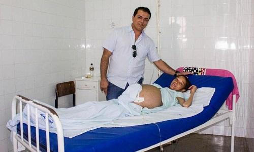 Com cirrose hepática, mulher é transferida para hospital de Guanambi