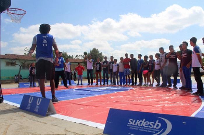 Clínicas e arenas esportivas do JUBs levam a difusão do esporte para o interior baiano