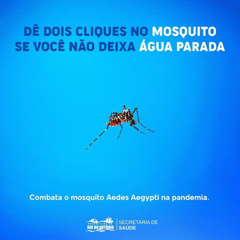 Rio do Antônio: Prefeitura alerta para o aumento de casos de Dengue