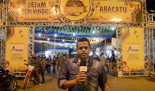 Primeira noite de shows do São Pedro de Aracatu atrai grande multidão; veja o vídeo com a cobertura completa