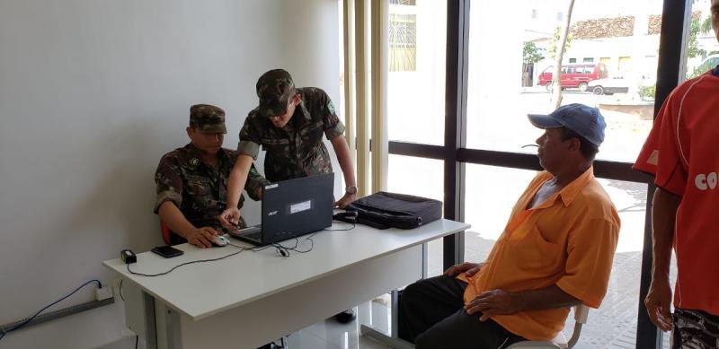 Maetinga: Exército e Condec realizam cadastramento para retorno da Operação Pipa no início de Fevereiro