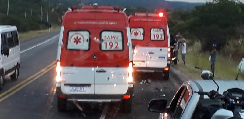 Acidentes em estradas federais da Bahia deixaram 453 mortos em 2018