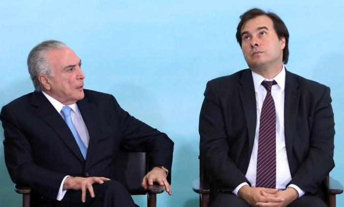 Rodrigo Maia diz que governo ainda não tem 308 votos para a Previdência