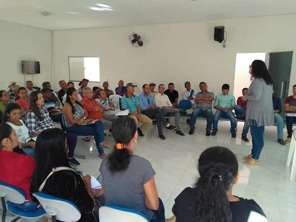 Guajeru: Secretarias realizam capacitação de membros do Conselho Municipal de Desenvolvimento Sustentável