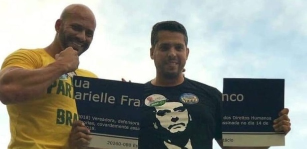 Candidato que destruiu placa de Marielle é deputado mais votado no Rio