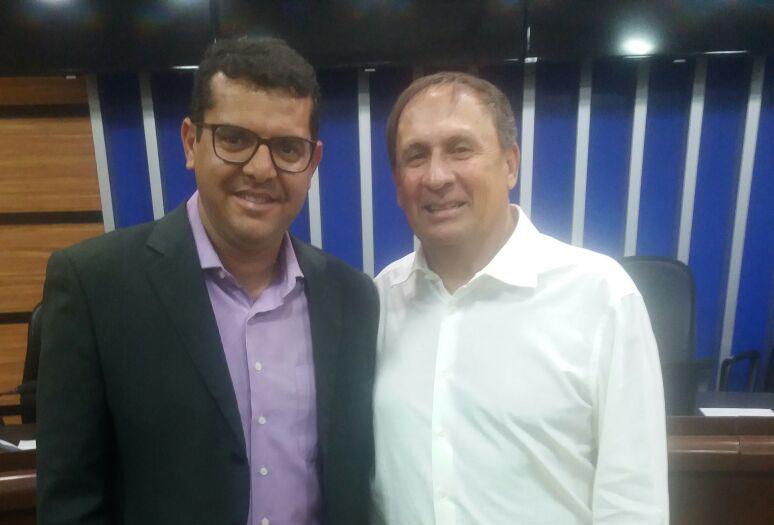 Política: Esmeraldino Correia e o brumadense Welligton Aguiar devem fazer dobradinha nas eleições deste ano