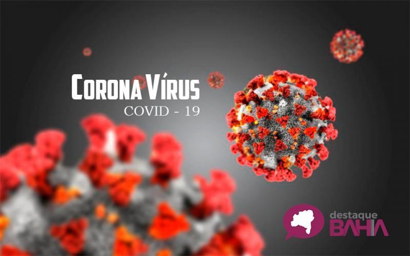 Bahia registra 100 óbitos por Covid-19 e mais de 19 mil casos ativos da doença