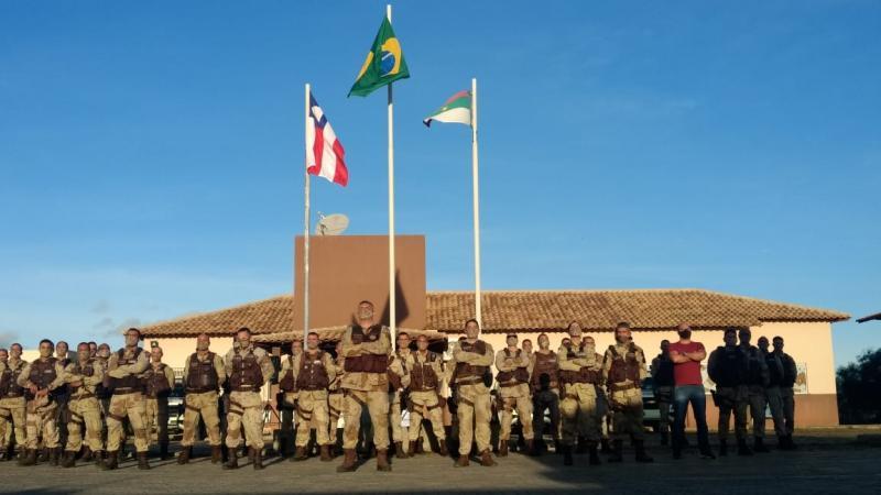 Após acidente, Major PM Mascarenhas volta ao comando da Caesg