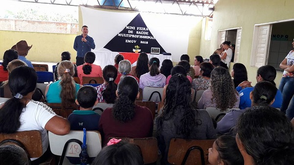 Em Guajeru, divulgação da campanha contra Hanseníase e Verminose continua sendo realizada nas escolas