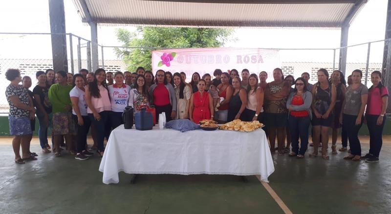 Brumado: Atividades Educativas sobre o Outubro Rosa são realizadas na Escola Miriam Meira