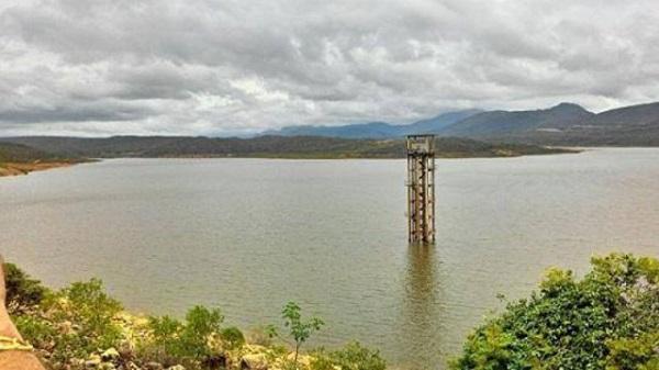 Barragem no município de Rio de Contas atinge mais de 24% de sua capacidade