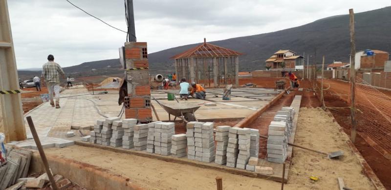 Brumado: Obras do Parque da Cidade estão em ritmo acelerado