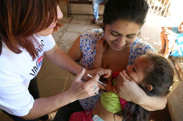 Casos de sarampo aumentam no mundo, alerta OMS