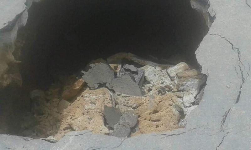 Brumado: Galeria pluvial cede e abre buraco próximo a ponte de acesso do centro com o Bairro São Félix