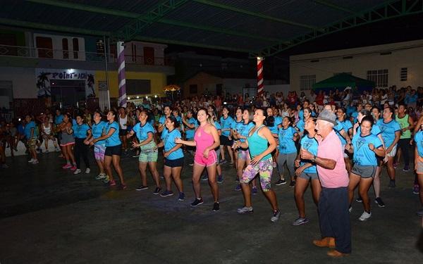 evento em conscientização ao Dia Mundial da Atividade Física é realizado em Malhada de Pedras