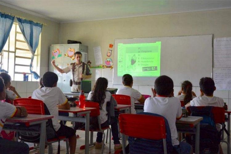 34ª CIPM inicia aulas do Proerd em Maetinga