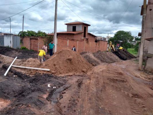 Prefeitura de Barra da Estiva realiza melhorias no Bairro Geraizinho