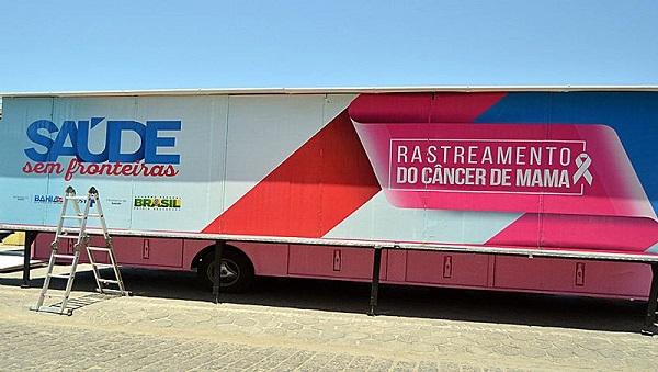 Maetinga e Presidente Jânio Quadros recebem rastreamento do câncer de mama