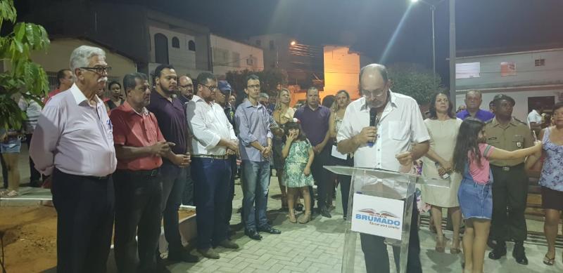Prefeitura de Brumado inaugura Praça Dr. Nelson Lula criando um grande espaço de lazer na cidade