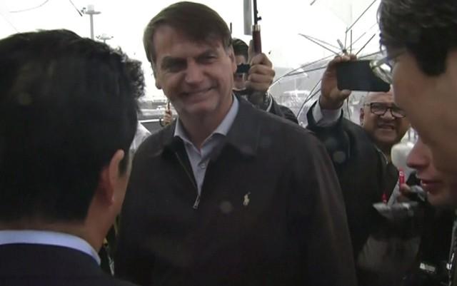 Bolsonaro desembarca no Japão para participar de cúpula do G20