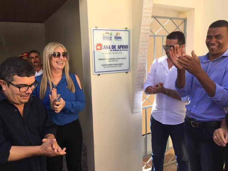 Para atender pessoas que fazem tratamento de saúde fora do município, prefeitura de Malhada de Pedras inaugura casa de apoio em Conquista